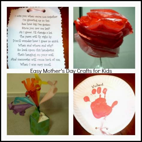 easy mothers day crafts 5 s day craft ideas for in the city