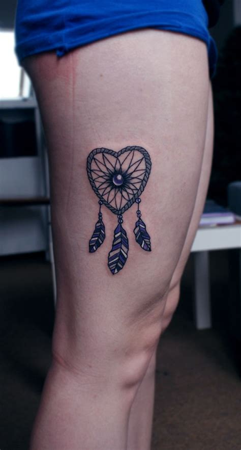 dreamcatcher tattoo meaning yahoo answers heart dreamcatcher tattoos pinterest best tattoo ideas