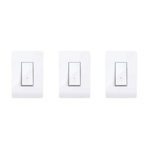 tp link light switch tp link smart wi fi light switch 3 pack 815906026517