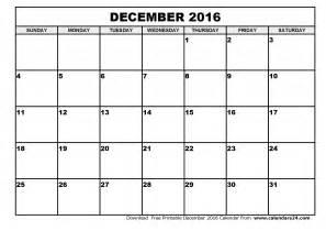 Would You Rather Calendar 2016 December Calendar 2016 Free Printable
