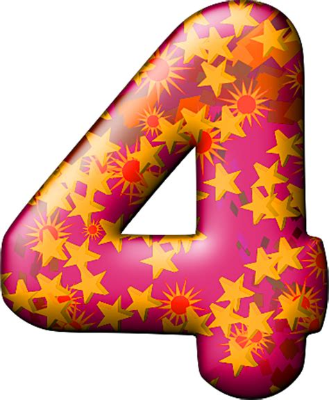themed party letter b presentation alphabets party balloon warm numeral 4