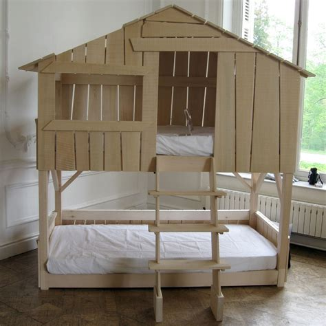 bunk beds that look like a house boomhut bed wegive