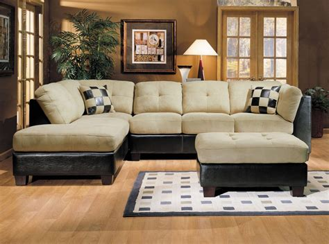 living room furniture sectional how to make a sectional sofa look perfect in a small
