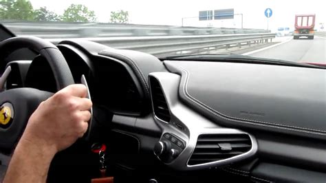 458 italia interni 458 italia on board part 2 acceleration