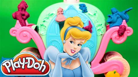 Dijamin Dough Princess Toys play doh cinderella magical carriage disney princess cinderella play dough clay hasbro