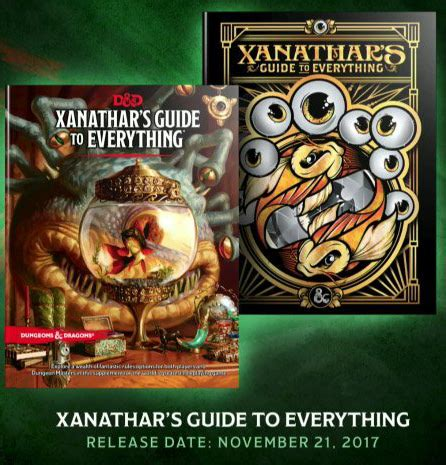 xanathars guide to everything 0786966114 everythingboardgames com giveaway database