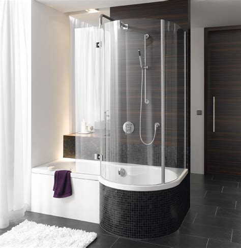 baths and showers for small bathrooms dusche mit badekomfort bette ger 228 umige dusche