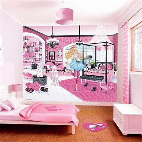 barbie wallpaper for bedroom barbie wallpepar bedroom interior decorating pinterest