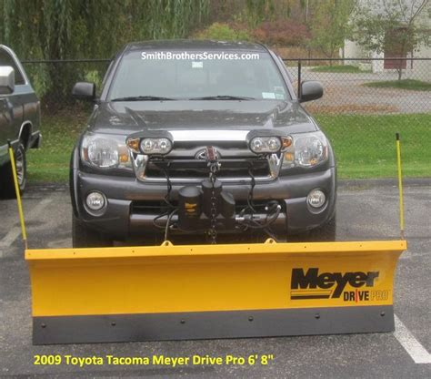 Snow Plow For Toyota Tacoma 2009 Toyota Tacoma Meyer Drive Pro 6 8 Quot Meyer Snow Plow