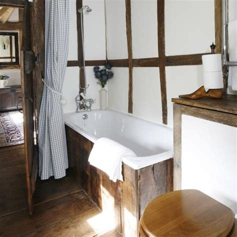 Small Rustic Bathroom Ideas by Tiny Bathrooms