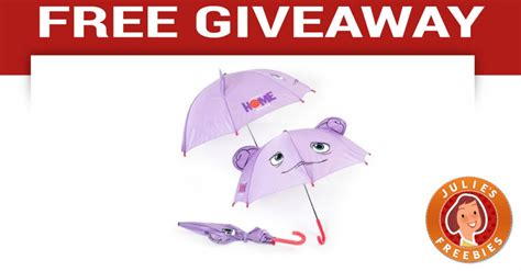 Free Home Giveaway - free home movie umbrella giveaway julie s freebies