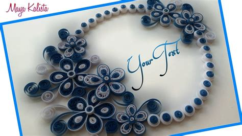 diy crafts    diy paper quilling greeting card design handmade diy designs youtube