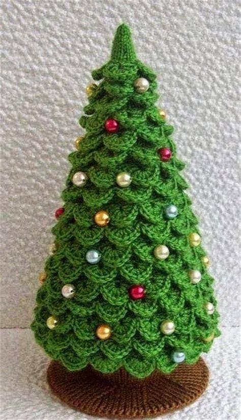 10 arboles de navidad en crochet patrones crochet