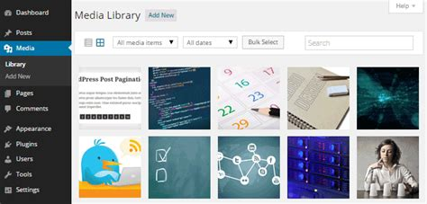 themes wordpress library working with images and the wordpress media library