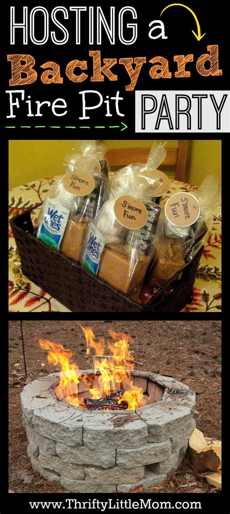 how to throw a backyard party tips for hosting a backyard fire pit party 187 thrifty