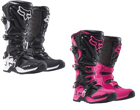 motocross boots fox fox racing womens youth all sizes colors comp 5 dirt
