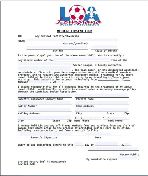 disclaimer template for sport sle consent form printable forms