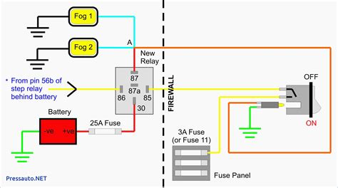 11 pin relay schematic diagram wiring diagram