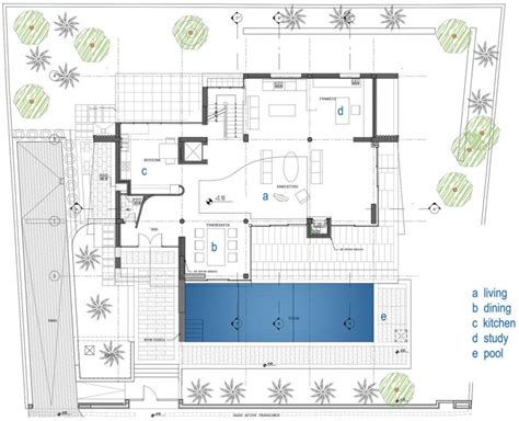 Modern Home Floor Plans by Modern Contemporary Home Floor Plans Large Modern