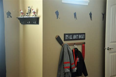 Wall Sconces For Bedroom Hockey Themed Boys Room Sports Transitional Kids