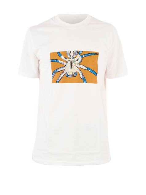 lanvin printed spider cotton t shirt t shirts rmj0035a1600