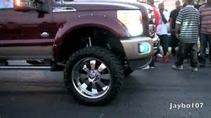 Mud Tires For 24 Inch Rims Ford F250 On 24 Inch Forgiato Wrap In Truck Tires