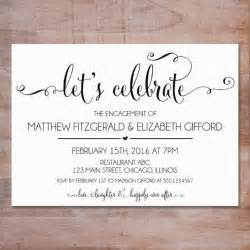 engagement invitation template 25 best ideas about engagement invitations on