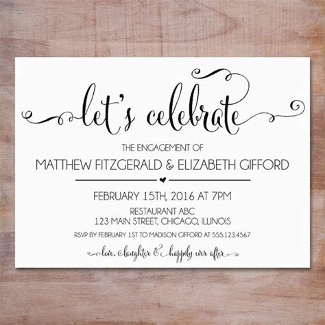 Engagement Invitation by 25 Best Ideas About Engagement Dresses On