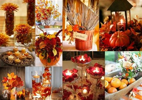 fall decorations for wedding pink cadillac table decorations