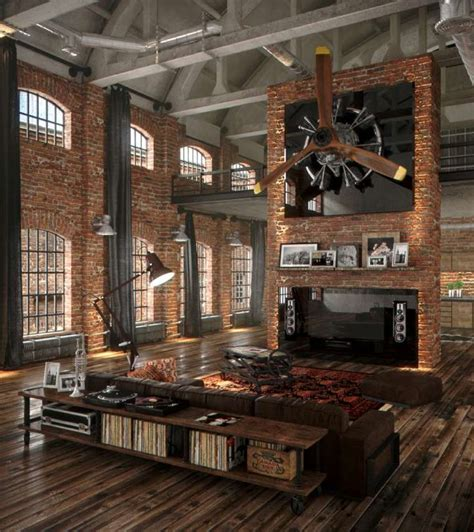 warehouse style home design loft industriel une s 233 lection d int 233 rieurs chics et boh 232 mes