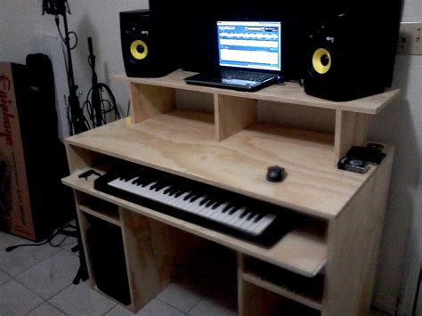 diy home studio desk my diy recording studio desk gearslutz pro audio community