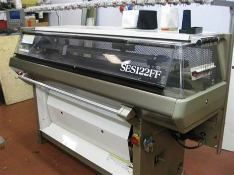 shima seiki knitting machines for sale shima seiki new ses 122 ff 5gg flat knitting machine exapro