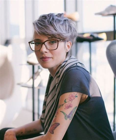 cool grey hairstyles ideas ecstasycoffee