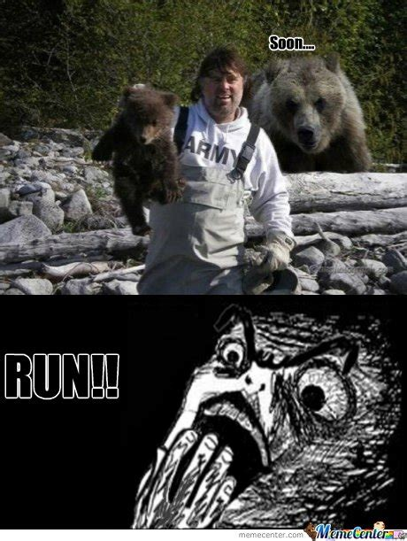 Running Bear Meme - soon bear run memes best collection of funny soon bear