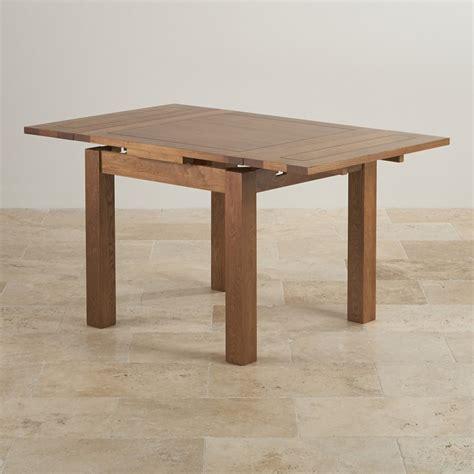 Rustic Solid Oak Dining Table 3ft X 3ft Rustic Oak Extending Dining Table Oak Furniture Land