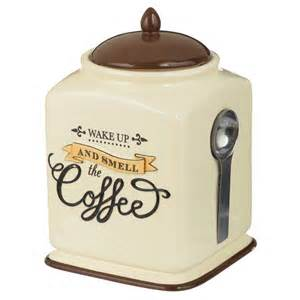 Coffee Kitchen Canisters by Coffee Themed Kitchen Canister Sets Best Home Decoration