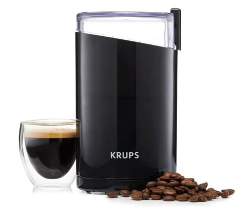 Krups Coffee Grinder krups f203 electric coffee and spice grinder review