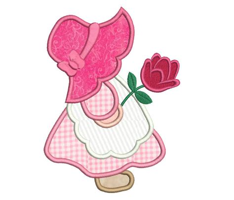sunbonnet sue applique sun bonnet sue applique embroidery design sunbonnet sue