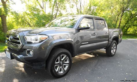 Toyota Tacoma Limited Road Test Review 2016 Toyota Tacoma Limited 4x4