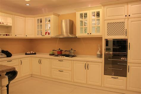Kitchen Mdf Cabinets Modern Mdf Melamine Wood Kitchen Cabinet In Kitchen Cabinets From Home Improvement On Aliexpress