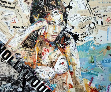 Harga Rangkaian Inez sobekan sobekan kertas pun menjadi karya seni menakjubkan