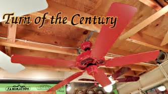 turn of the century fans turn of the century quot fan dlier ceiling fan from