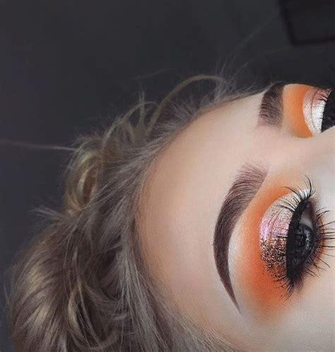 Eyeshadow Orange best 25 orange eyeshadow ideas on beat