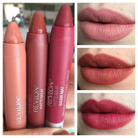 Lipstik Revlon Colour Matte revlon fall 2015 colorburstmattebalm new shades in 225 enchanting 265 fierce and 270 fiery
