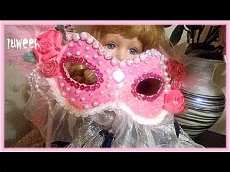 How To Make A Paper Masquerade Mask - how to make paper masquerade mask