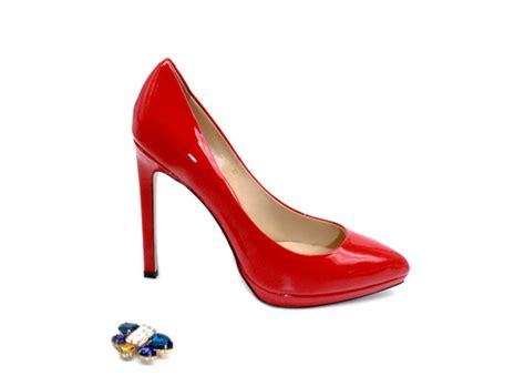 red comfortable heels most comfortable heels glossy red platform high heel pumps