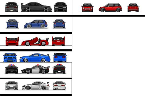 pixel art car pixel car collection by lild27 on deviantart