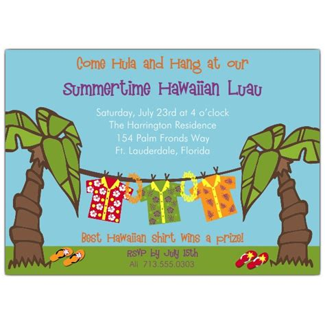 luau invitation template hawaiian luau invitations paperstyle