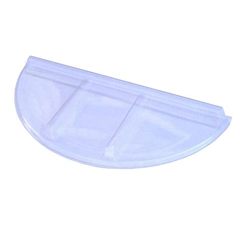 Thick Covers by Flat Area Well Cover Thick Strong Clear Plastic