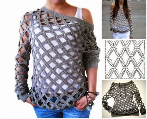 tutorial rajut sweater 1409 best images about crochet sweaters jackets on